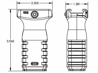 MFT React Short Grip (RSG)