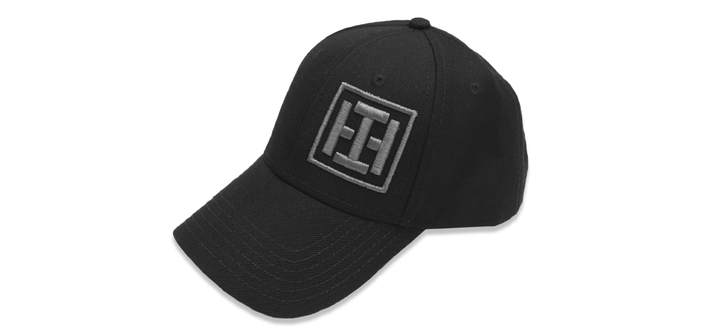 Iron Hide - Solid Black Cap