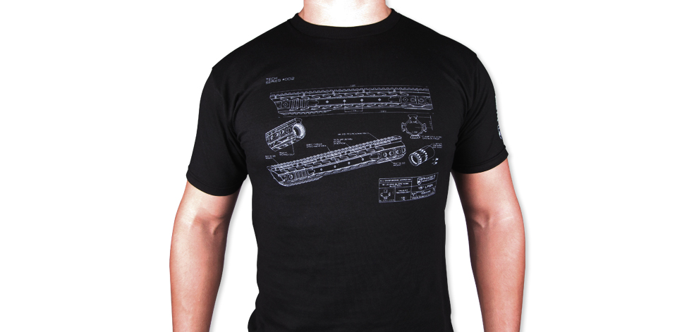 "P5 LPSN 15"" T-Shirt - Tech Series #002 - Black"