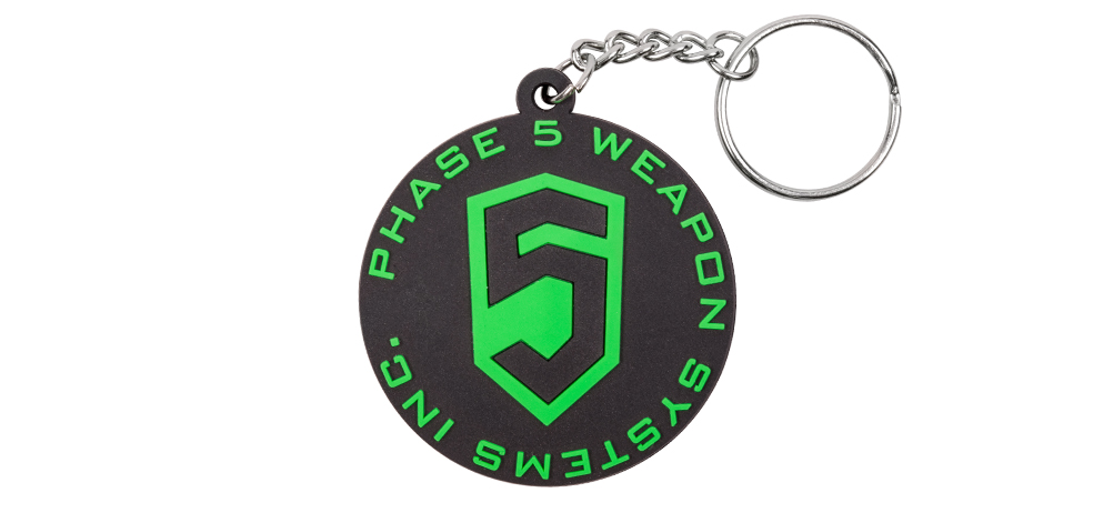 Phase 5 // PHASE 5 LOGO KEY CHAIN - GREEN