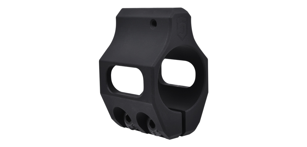 Low Profile Gas Block (Pinch Screw)