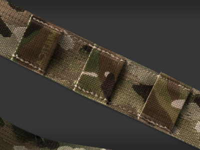 MOLLE attachment system