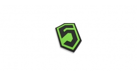 Phase 5™ 3D PVC Patch - Field Traning Green