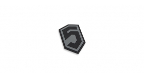 Phase 5™ 3D PVC Patch - Grey / Black