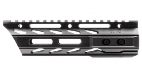 "Phase 5 // 7.5"" Lo-Pro Slope Nose (LPSN) Free Float Quad Rail - M-LOK"