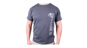 P5 Vertical Logo T-Shirt - Heather Grey