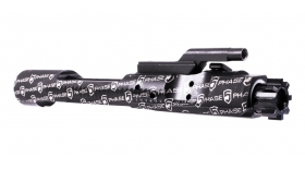 AR-15 CHROME LINED BLACK PHOSPHATE COMPLETE BOLT CARRIER GROUP - ALL OVER PRINT