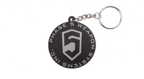 Phase 5 // PHASE 5 LOGO KEY CHAIN - BLACK