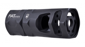 FATman Hex Brake - 9mm / 7.62x39 / 6.8mm - 1/2 - 36 TPI