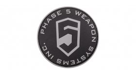 Phase 5 // Phase 5™ 3D PVC Patch - Black Circle logo